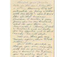 Correspondence: Jane [Boyd] to Emmett [Boyd]: June 8, 1944